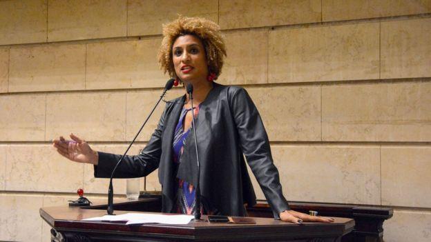 A vereadora Marielle Franco foi assassinada junto com seu motorista em 14 de março de 2018