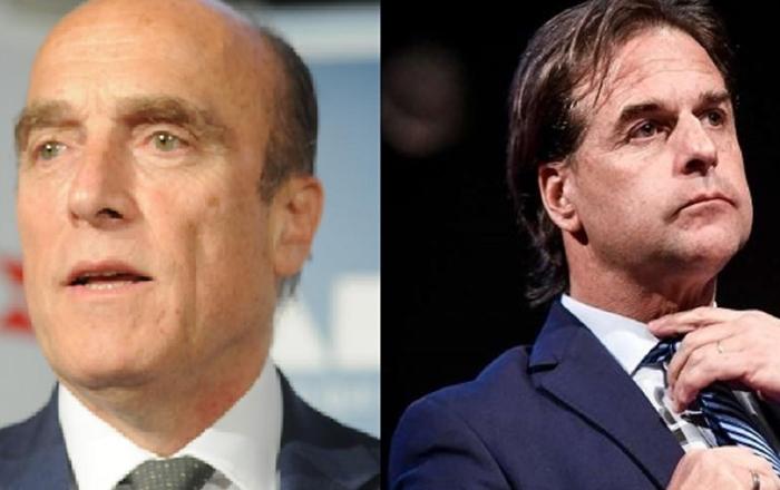 Martínez, da coligação de Tabaré Vásquez, e o neoliberal Lacalle Pou se enfrentam novamente em novembro