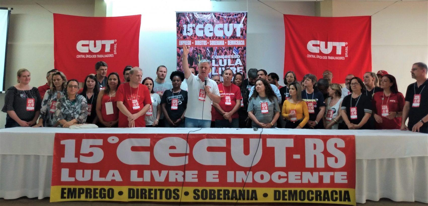 Cenci: Defendemos um país soberano, livre, não privatizado e uma sociedade com direitos, democrática e livre no seu pensar, no seu agir e coletivamente solidária
