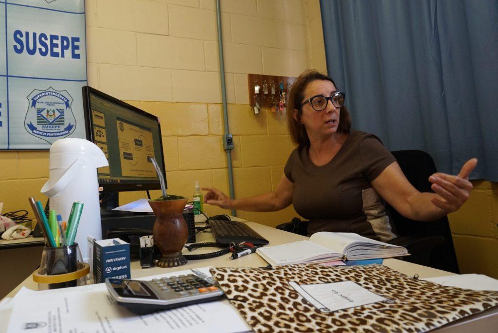 A diretora da Pecan I, Magda Rosane da Silveira Pires:Além de ocupar a mente, o trabalho dá senso de responsabilidade.
