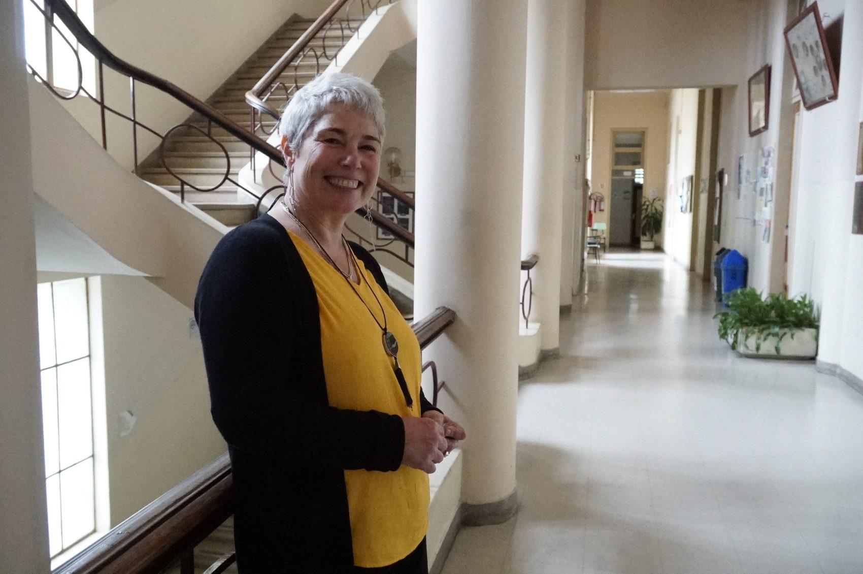 Professora Janice Dornelles de Castro, coordenadora do curso O papel e os desafios da economia feminista no contexto contemporâneo, na Faculdade de Ciências Econômicas (FCE) da Ufrgs