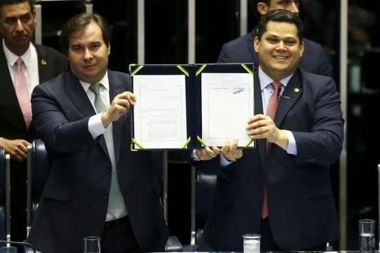 Promulgação da Reforma da Previdência | Foto: Marcelo Camargo/Agência Brasil