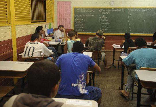 11,8% dos jovens com menores rendimentos abandonaram a escola sem concluir a educação básica em 2018 | Foto: Agência Brasil