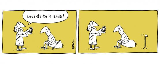 Levanta-te e anda! | Rafael Corrêa