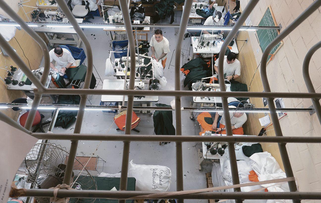 No estado, mais de 11 mil trabalham nos presídios − pouco mais de 1/4 do total de apenados em todo Rio Grande do Sul