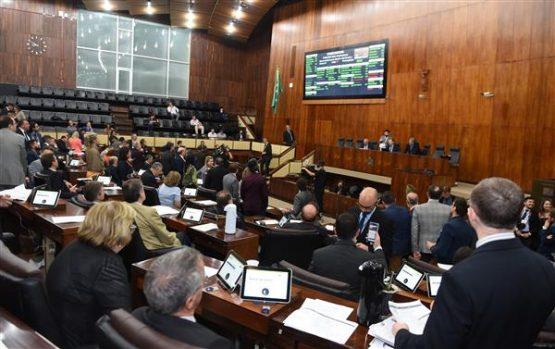 Votação do Código Ambiental na Assembleia Legistlativa | Foto: Vinicius Reis/Assembleia Legislativa