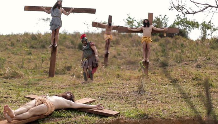 Sátira 'A primeira tentação de Cristo