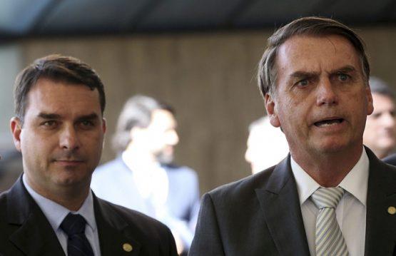 MP identificou envolvimento do senador com a milícia e a participação de ex-mulher do presidente Jair Bolsonaro