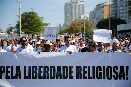 Manifesto defende liberdade de crença e aponta discriminação no governo | Foto: Fernando Frazão/Agência Brasil