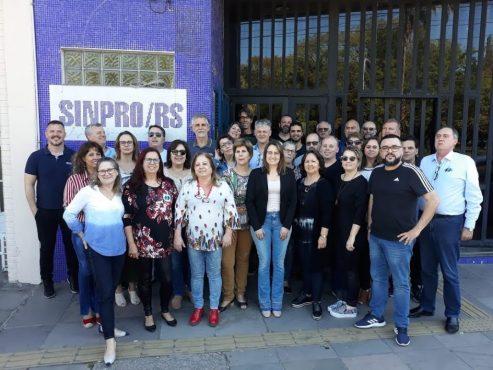Sinpro/RS inicia 2020 sob nova direção | Foto: Valeria Ochôa/AssCom