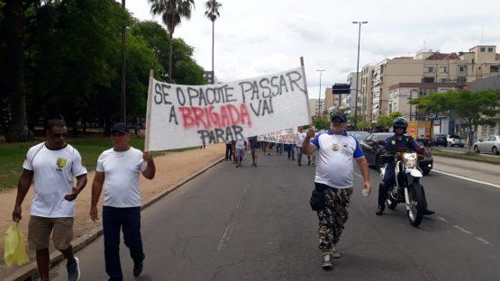 Policiais militares contra o pacote de Educardo Leite (11) | Foto: Igor Sperotto