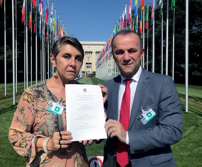 Em relatório apresentado em setembro à ONU, os deputados Érika Kokay (PT-DF) e Helder Salomão (PT/ES), presidente da Comissão de Direitos Humanos e Minorias da Câmara dos Deputados (CDHM) alertam sobre a falta de compromisso do atual governo com os direitos humanos