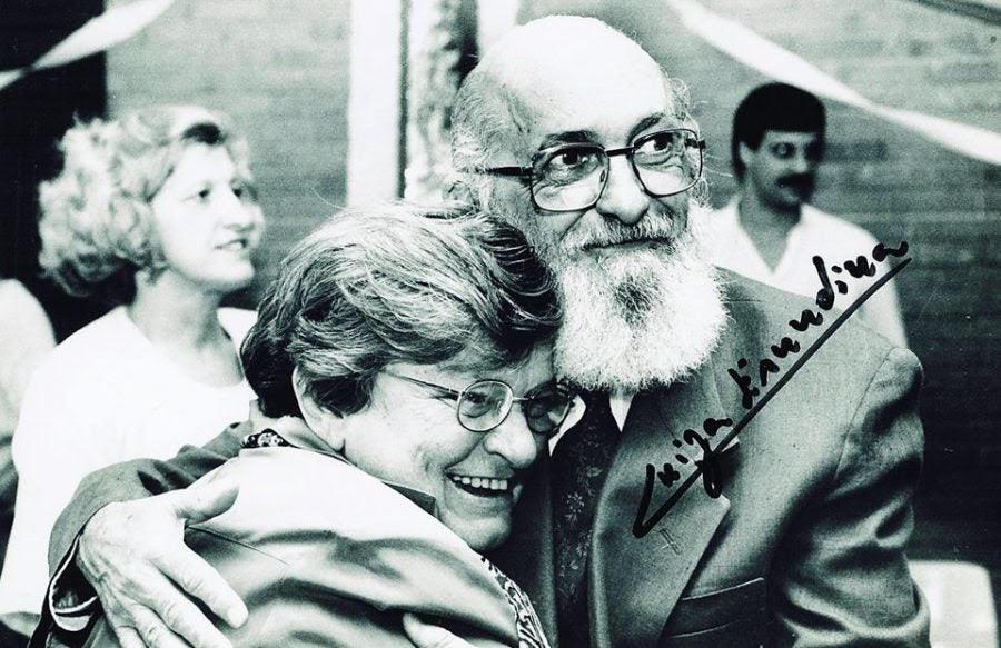 Paulo Freire foi secretário de Educação entre 1989 e 1991, durante gestão de Erundina na Prefeitura de São Paulo