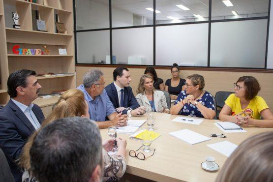 Cpers reunião com o Governo | Foto: divulgação CPERS