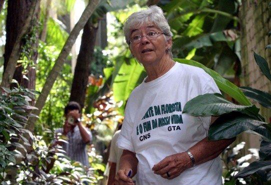 Dorothy Stang foi assassinada aos 73 anos de idade, em 12 de janeiro de 2005.