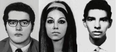 Iuri, Ana e Marcos foram mortos aos 23, 25 e 19 anos ao serem torturados na sede do Doi-Codi, em São Paulo