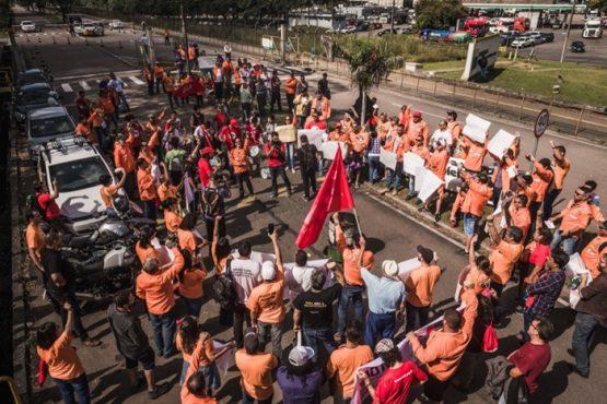 Petroleiros entram na terceira semana de greve contra demissões | Foto: FUP/ Divulgação
