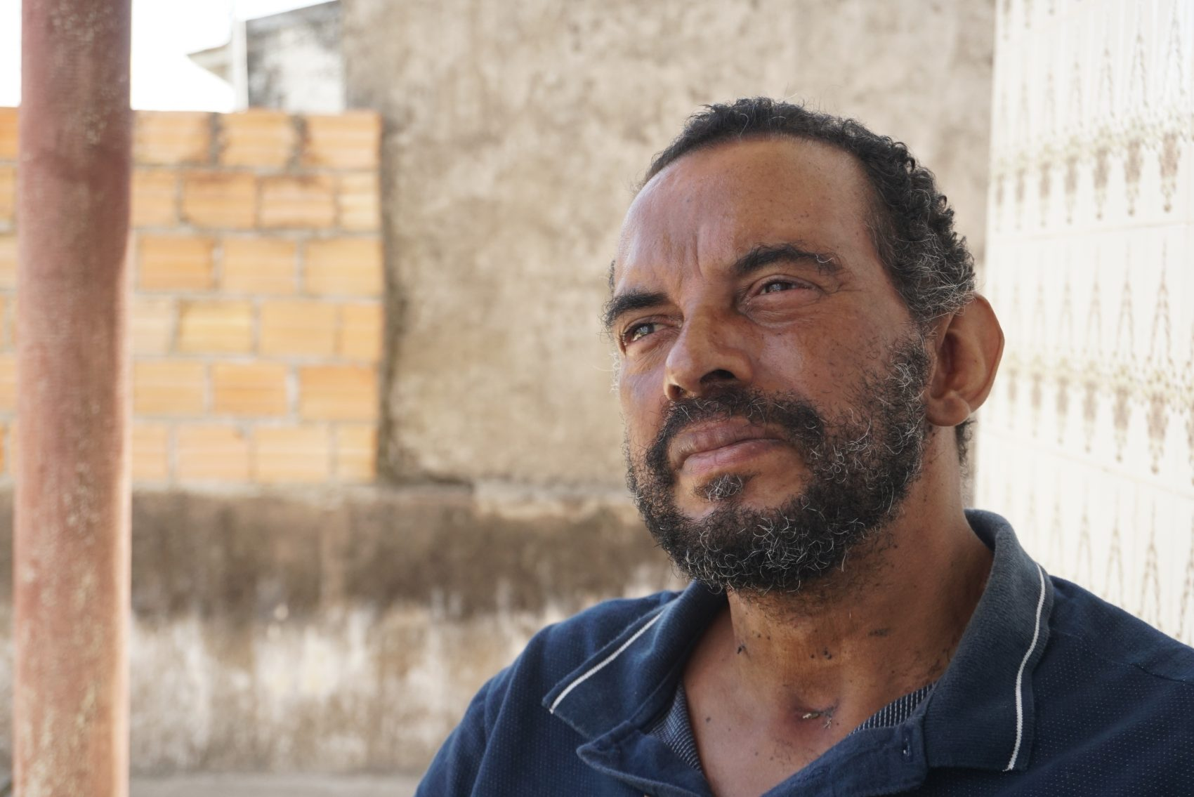 Marcos Roberto Martins Freitas, 52 anos, teve alta recentemente, após quase dois meses de internação