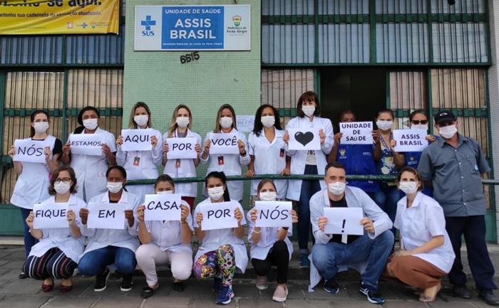 Profissionais das Unidades Básicas de Saúde alertam sobre importância do isolamento social nesta fase do contágio por coronavírus