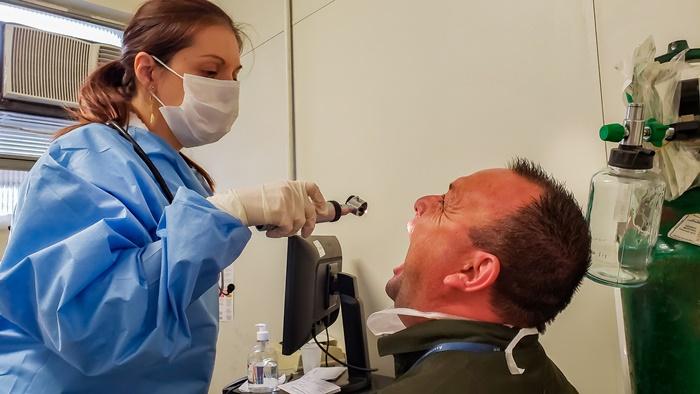 Pacientes buscaram atendimento na rede municipal de Saúde, no Posto de saúde Modelo, com sintomas do Covid19
