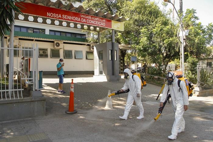 Referência em atendimento a pacientes da Covid-19, Hospital Conceição, que integra o complexo GHC, está na mira das privatizações de Guedes