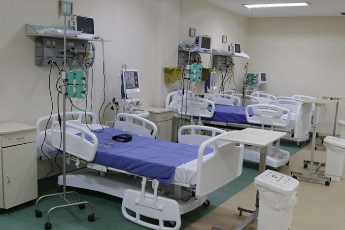 No hospital municipal Ronaldo Gazolla, 52 dos 60 leitos de UTI estão ocupados por vítimas da covid-19. Cronograma prevê ampliação da capacidade para 201 vagas para pacientes graves