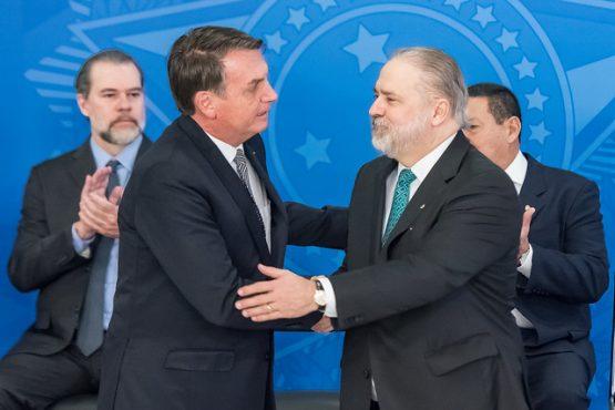 Augusto Aras tem sido acusado de blindar o presidente Jair Bolsonaro