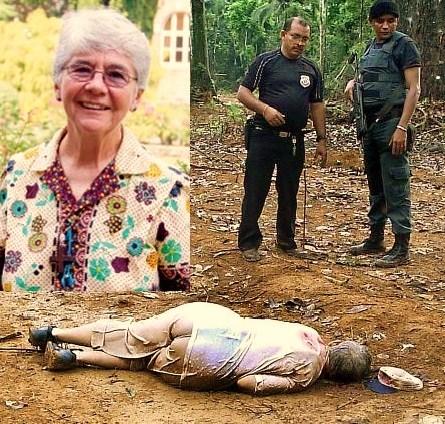 A missionária Dorothy Stang foi assassinada em 2005, em Anapu, no oeste do Pará