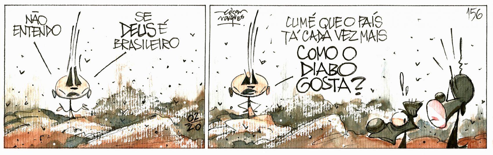 Quadrinhos | Rango | Edgar Vasques | Março de 2020 | Edgar Vasques