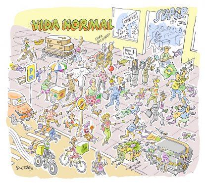 CORONA-VIDA NORMAL | Charge: Santiago