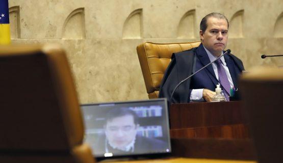 MP 966 quer livrar da cadeia os operadores do golpe de trilhões - Presidente do STF durante sessão plenária por videoconferência Foto Rosinei Coutinho SCO STF | Foto: Rosinei Coutinho/SCO/STF