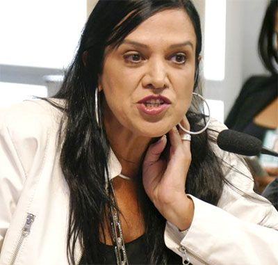 Maria José Braga, presidente da Federação Nacional dos Jornalistas (Fenaj)