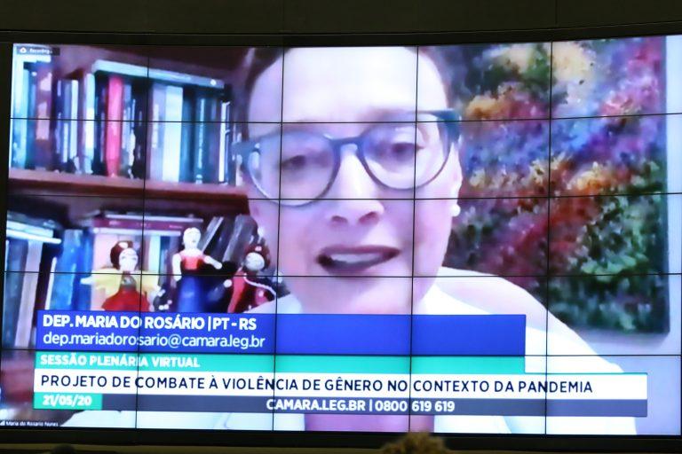 """Maria do Rosário: A legislação, ao ser aprovada no Senado, também estará """"chamando para responsabilidade quem deve cumprir também o Estatuto da Criança e do Adolescente (ECA) e o Estatuto do Idoso""""."""