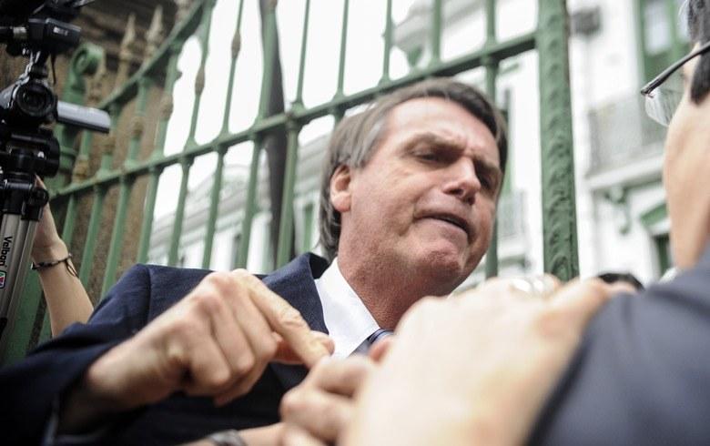 Ainda candidato, Bolsonaro já utilizava ataques sistemáticos à imprensa como estrategia para manter seus apoiadores mobilizados