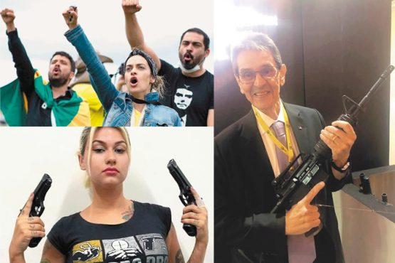 Ex-servidora e protegida de Damares, a militante neonazista Sara Winter é a estrela dos grupos paramilitares que gravitam em torno do presidente. Ela e Jefferson, aliado de última hora de Bolsonaro, são investigados pelo STF junto com parlamentares do PSL