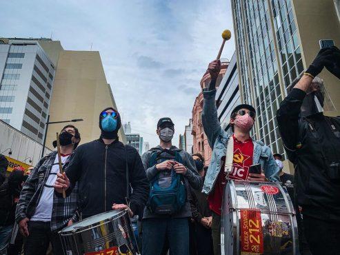 Ato em defesa da democracia e antirracista  em Porto Alegre será na Esquina Democrática | Foto: Reprodução/Twitter