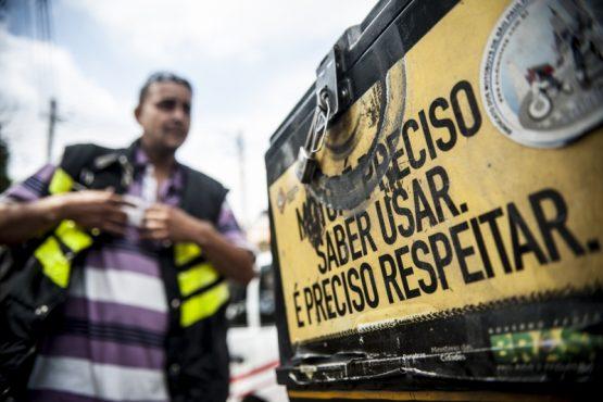 Entregadores de aplicativos vão paralisar e pedem boicote solidário - Marcelo - Agencia Brasil | Foto: Marcelo Camargo/Agência Brasil