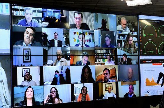 Novo Marco do Saneamento vai à sanção do presidente Bolsonaro - Sessão virtual do Senado Federal | Foto: Agência Senado