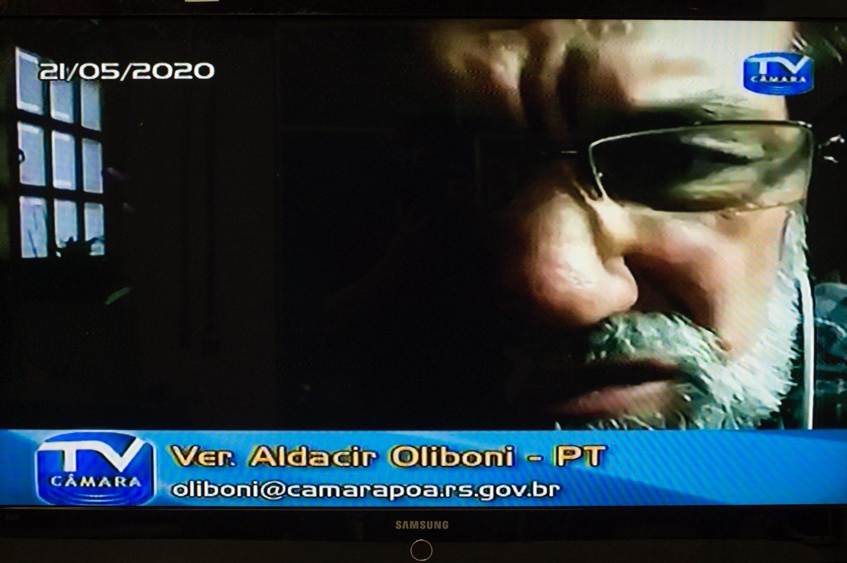 Aldacir Oliboni, líder da Oposição no Legislativo