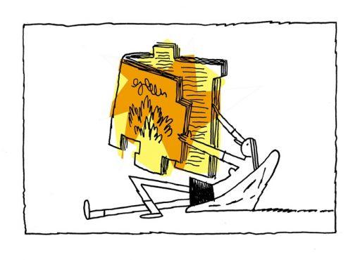 Leituras incomuns | Ilustração: Sica