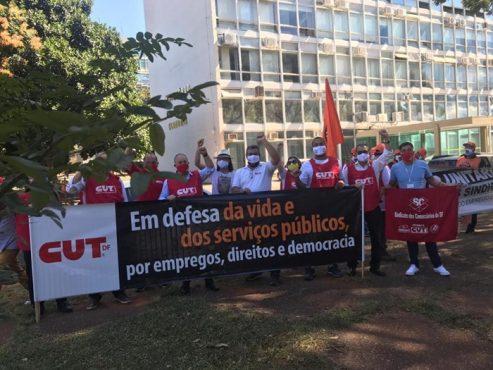 Centrais de trabalhadores reivindicam prorrogação do auxílio emergencial | Foto: Força Sindical/ Divulgação
