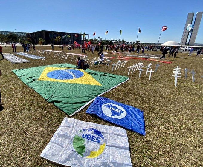 Ato pró-impeachment de Bolsonaro