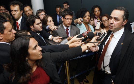 Limite legal da liberdade de expressão está parado no STF há quatro anos | Foto: Nelson Jr./SCO/STF