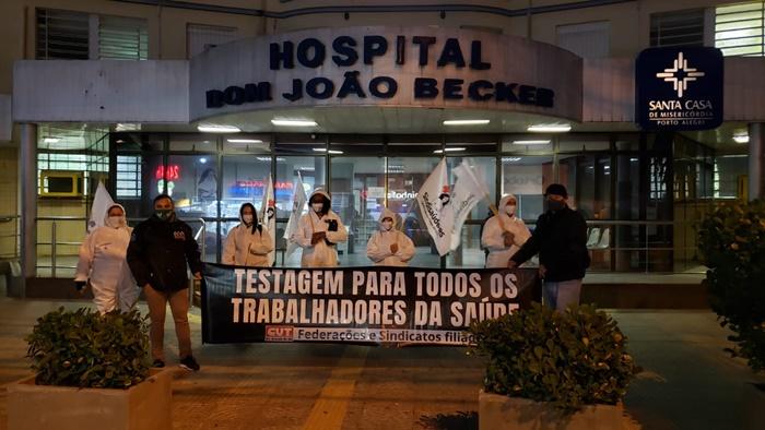 Prazo dado pelo TRT4 e MPTRS para uma resposta dos hospitais gaúchos sobre a testagem de profissionais termina nesta sexta-feira, 31