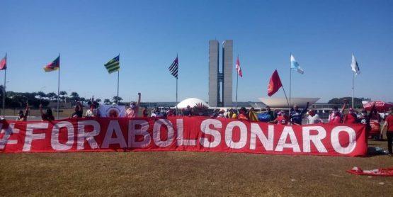 Pedido de impeachment contra Bolsonaro se soma à outros já apresentados   Foto: Tiago Rodrigues/MST
