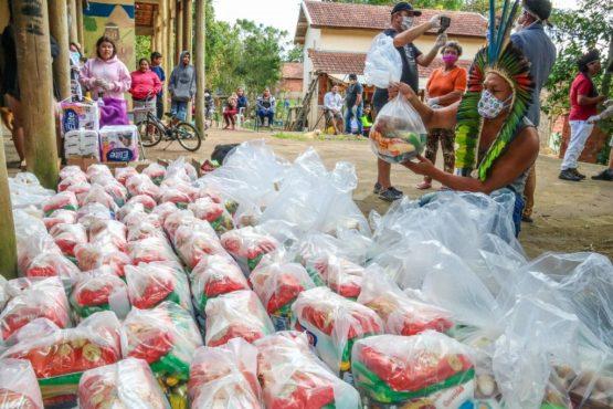 Reforma Agrária - doações de alimentos no Rio Grande do Sul. | Foto: Leandro Molina