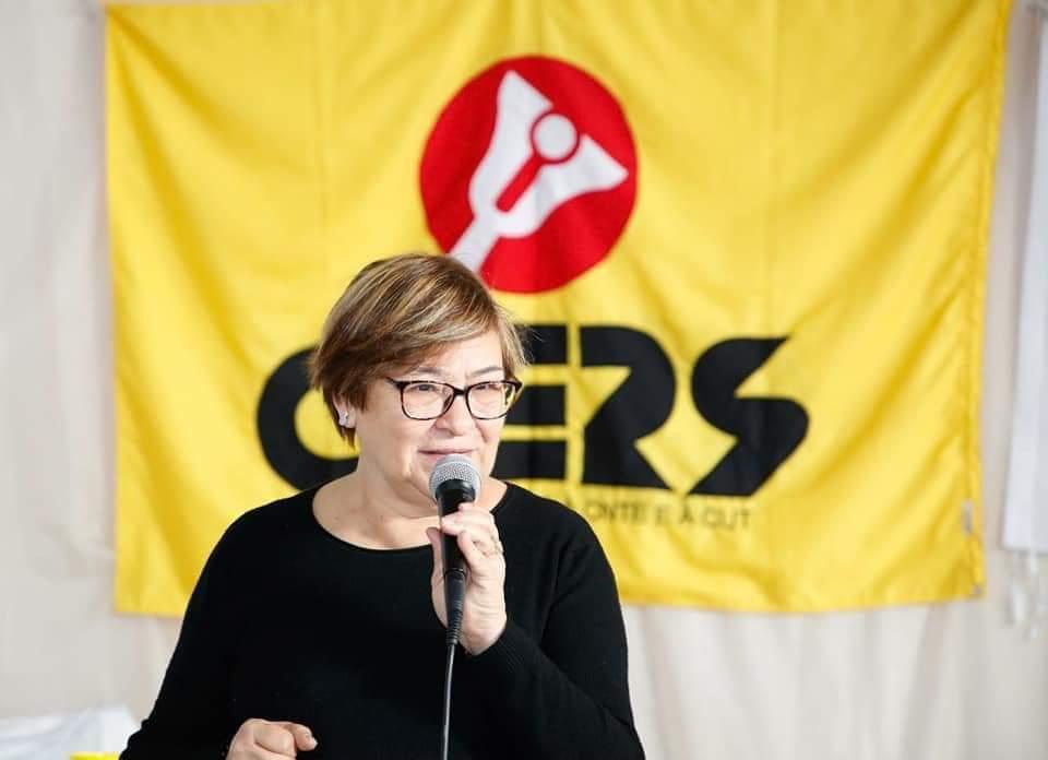 Helenir Aguiar Schürer, presidente do Cepers-Sindicato