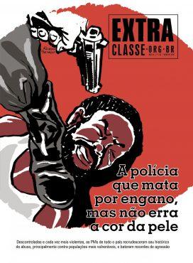 Sistemas de opressão em tempos de pandemia | Capa: Arte de Fabio Edy Alves sobre ilustração de Ricardo Machado