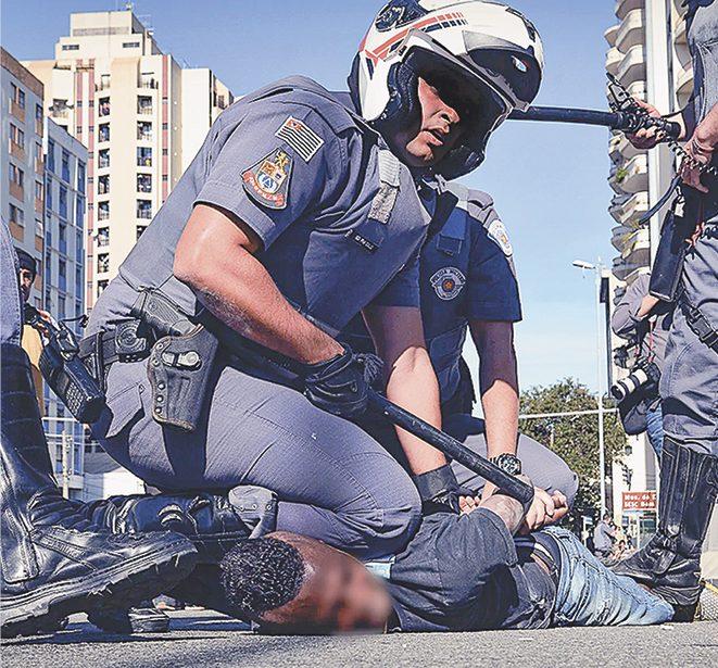 Caso ocorrido no centro de São Paulo no final de junho