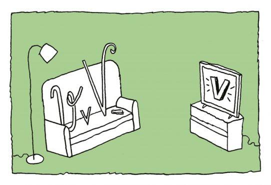 Vois vil e vinte | Ilustração: Sica